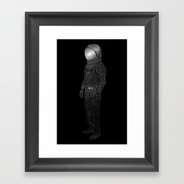 It's Lonely Out In Space Framed Art Print