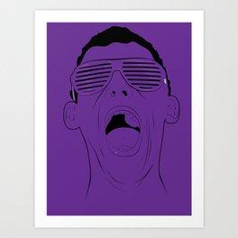 Shutter Shades Art Print
