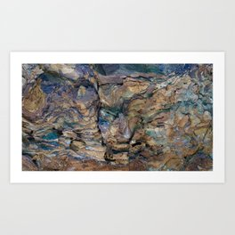 Space Rocks Art Print