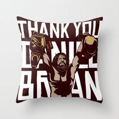 Thank you Bryan Throw Pillow