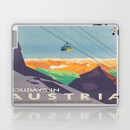 Vintage poster - Austria Laptop & iPad Skin
