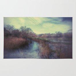 Whimsical Fields of Winter Rug