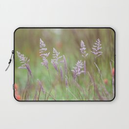 Calming Grasses at Mount Saint Helens Laptop Sleeve