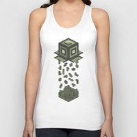 tetris Tank Tops featuring Tetris by Delaney Digital