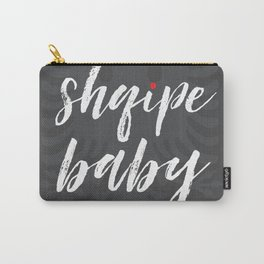 shqipe baby grey Carry-All Pouch