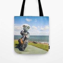 Irish landscape in Greystones Tote Bag