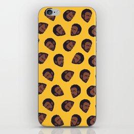 GAMBINO   yellow iPhone Skin