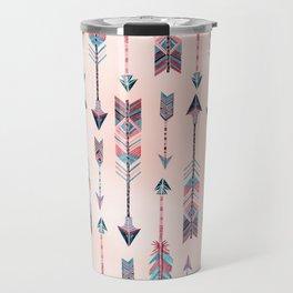 Patterned Arrows Travel Mug