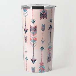 Patterned Arrows Travel Mug