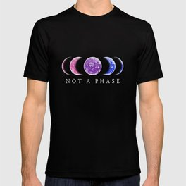 Not A Phase - Bisexual Pride T-shirt