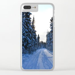 AbitibiWinter18 Clear iPhone Case