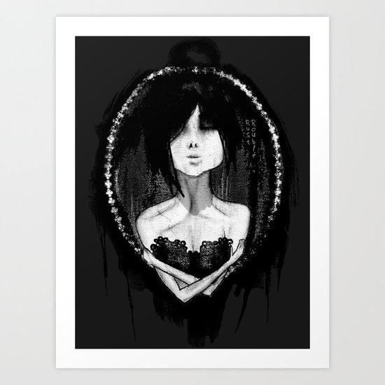 GothLoli (ゴスロリ) Art Print