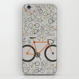 Fixed gear bikes iPhone Skin