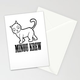 MINOU KREW Stationery Cards
