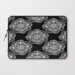 Tangled Mandala Pattern Laptop Sleeve