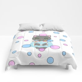 Whimsical Cat Comforters