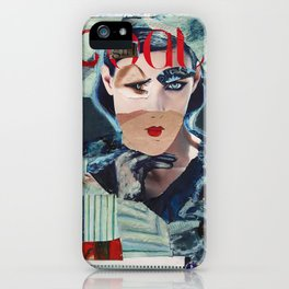 Cool girl iPhone Case
