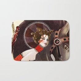 Amanda Palmer Six of Wands Bath Mat