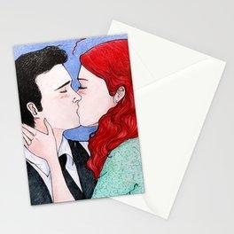 Dizzie kiss Stationery Cards