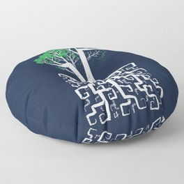Square Root Floor Pillow