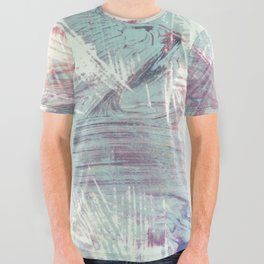 Weathered Rhythms All Over Graphic Tee