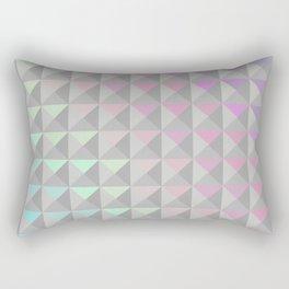 Silver Xs Rectangular Pillow