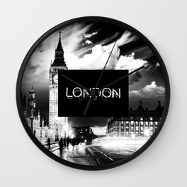 london night Wall Clock