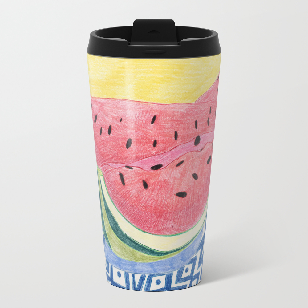 Watermelon Wedges Travel Cup TRM8972780