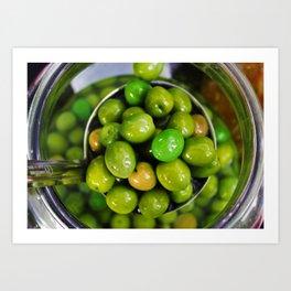 Olive you lots Art Print
