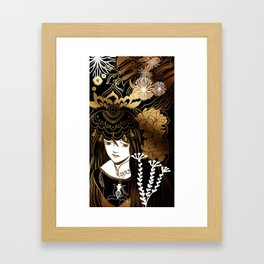 thoughtful Framed Art Print