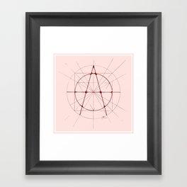 XXIst Century Anarchy Framed Art Print