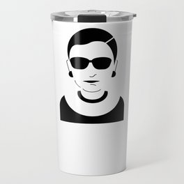Notorious RBG Ruth Bader Ginsburg Travel Mug