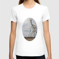 israel T-shirts featuring Alian Tree at The Israel Museum Jerusalem by AntWoman