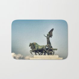 Winged Victory Bath Mat