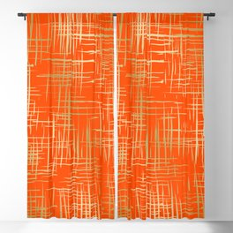 Crosshatch Fire Blackout Curtain
