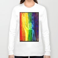 queer Long Sleeve T-shirts featuring This Queer Life by Dandy Jon