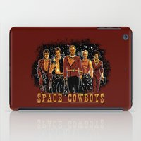 ripley iPad Cases featuring Space Cowboys by The Cracked Dispensary