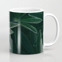 Spring life II - Macro image of a beautiful lupine in early spring Coffee Mug