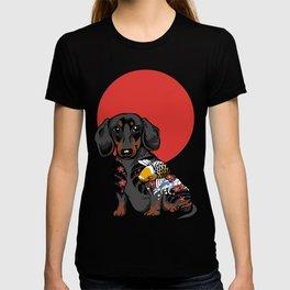 Yakuza Dachshund T-shirt
