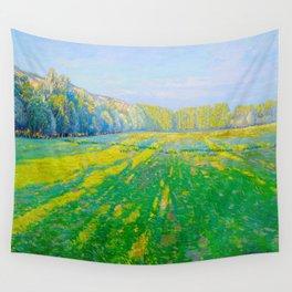 Václav Radimský (1867-1946) Bright Landscape Impressionist Landscape Painting Bright Colors Oil Wall Tapestry