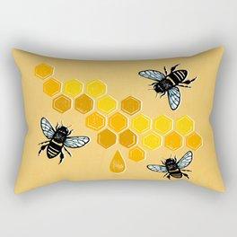 """""""Honeybees"""" Rectangular Pillow"""