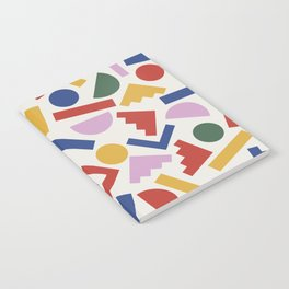 Colorful Geometric Shapes Notebook