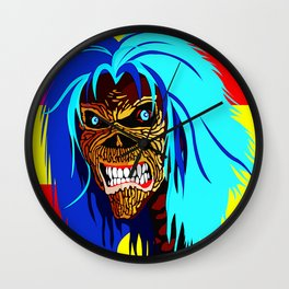 EDDIE D HEAD Wall Clock