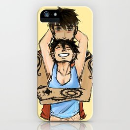 Hold Me iPhone Case