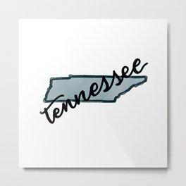 Tennessee Metal Print