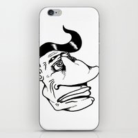 grease iPhone & iPod Skins featuring More Than a Touch of Grease by Adam Metzner