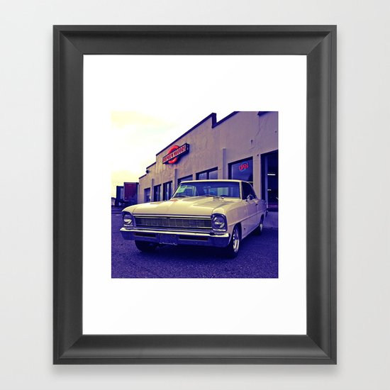 Chevy 2 cool Framed Art Print