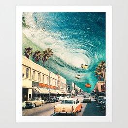 Portal to Summer Art Print