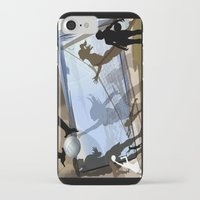 volleyball iPhone & iPod Cases featuring Anyone For Volleyball? by Robin Curtiss