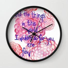 Few Wall Clock